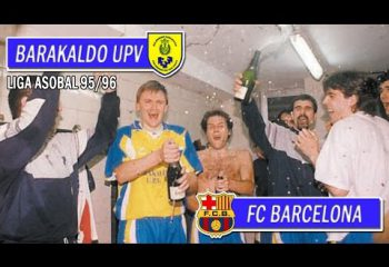 Barakaldo UPV-FC Barcelona (Liga Asobal 95/96)