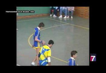 Retransmisión Tele7. Trapagaran - Caja Bilbao (1992)