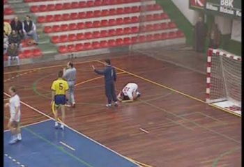 Final partido Balonmano Barakaldo UPV Teka Cantabria (30-28)